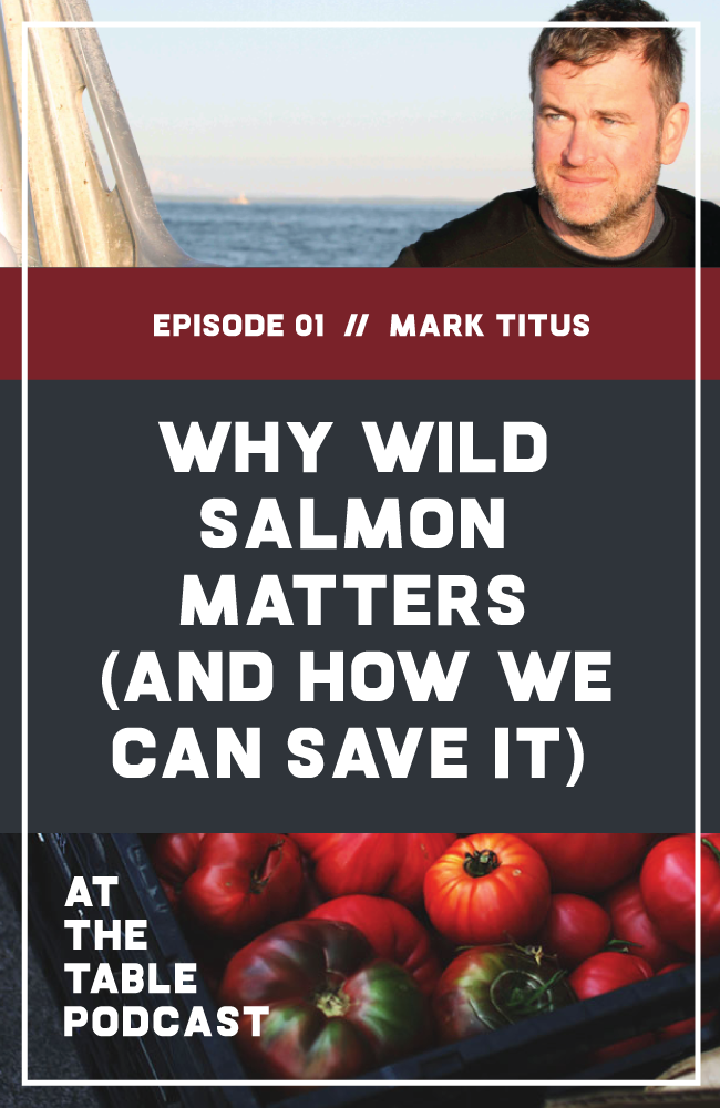 On this podcast episode, Filmmaker Mark Titus talks about his award-winning documentary The Breach, why wild salmon matter, farmed versus wild salmon, and how to save wild salmon.