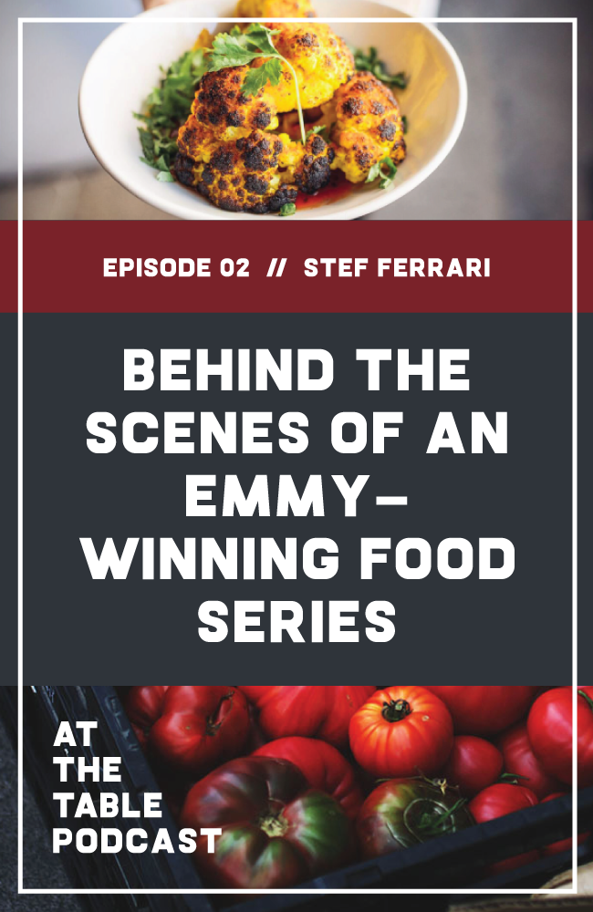 Stef Ferrari, Editor of Life & Thyme, on telling food stories, building a more inclusive food system, and what it takes to produce her Emmy Award-Winning show, The Migrant Kitchen, which spotlights innovative LA chefs from diverse backgrounds.