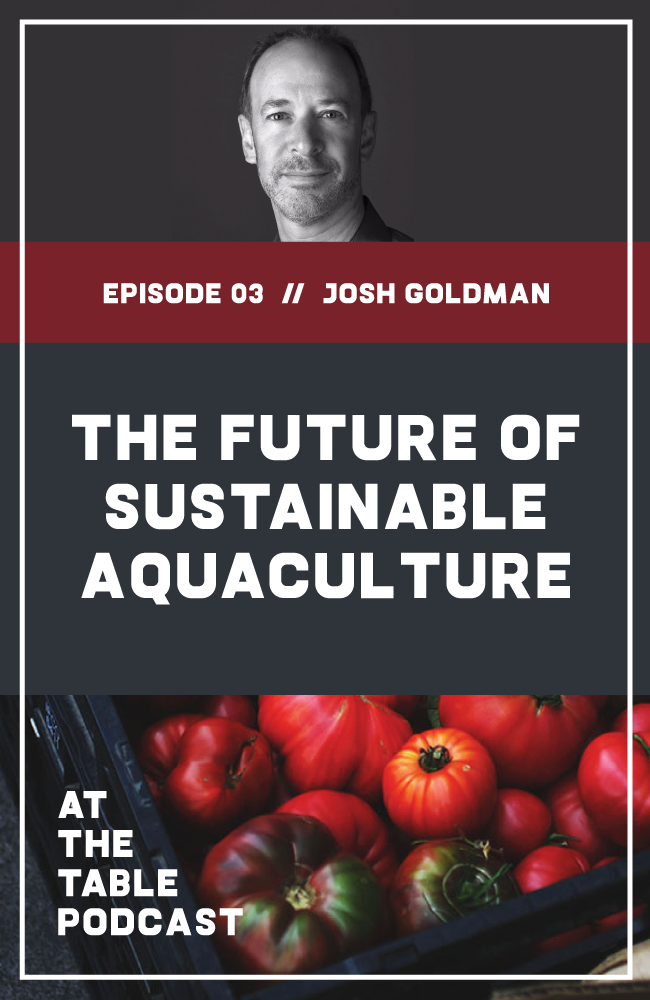 I talk to sustainable aquaculture pioneer Josh Goldman about the potential of sustainable fish farming, the strategies he uses to minimize environmental impacts with Australis Barramundi, and the future of aquaculture.