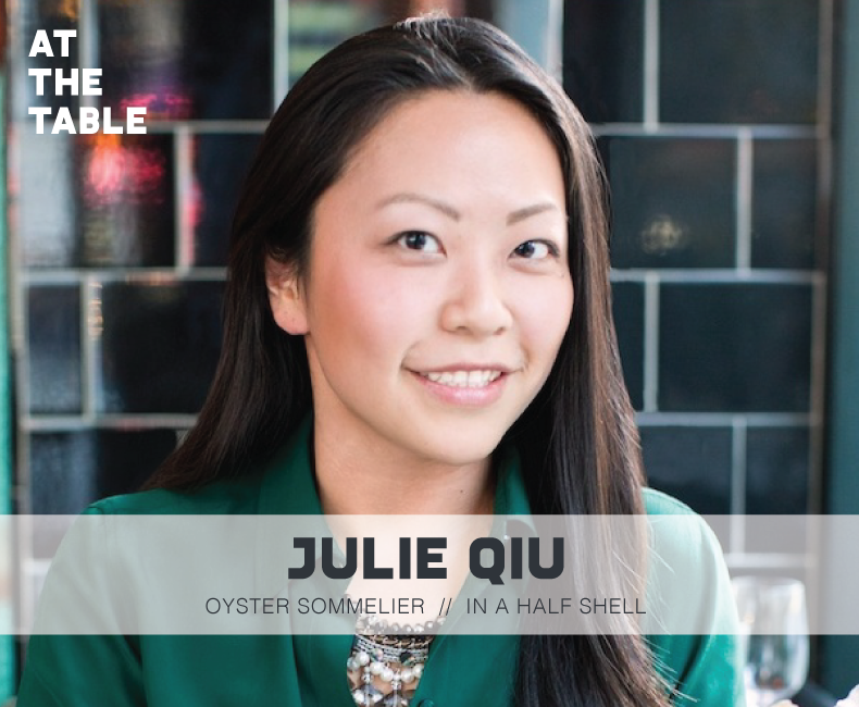 Julie Qiu on At The Table Podcast
