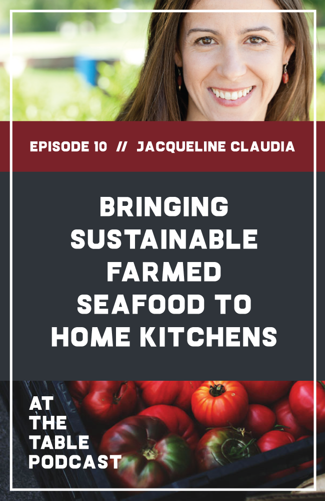 Jacqueline Claudia of Love The Wild on At The Table Podcast
