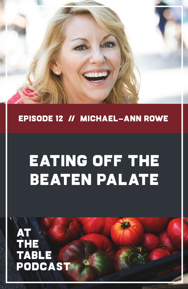 Michael-Ann Rowe on At The Table Podcast