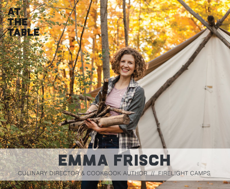 Emma Frisch on At The Table Podcast