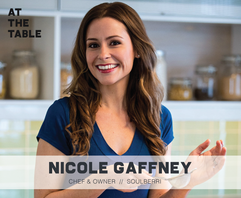 Nicole Gaffney Headshot At The Table Podcast