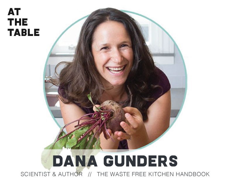 dana gunders on at the table podcast