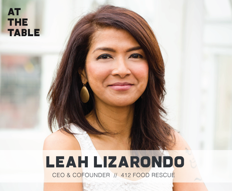 Leah Lizarondo of 412 Rescue on At The Table Podcast