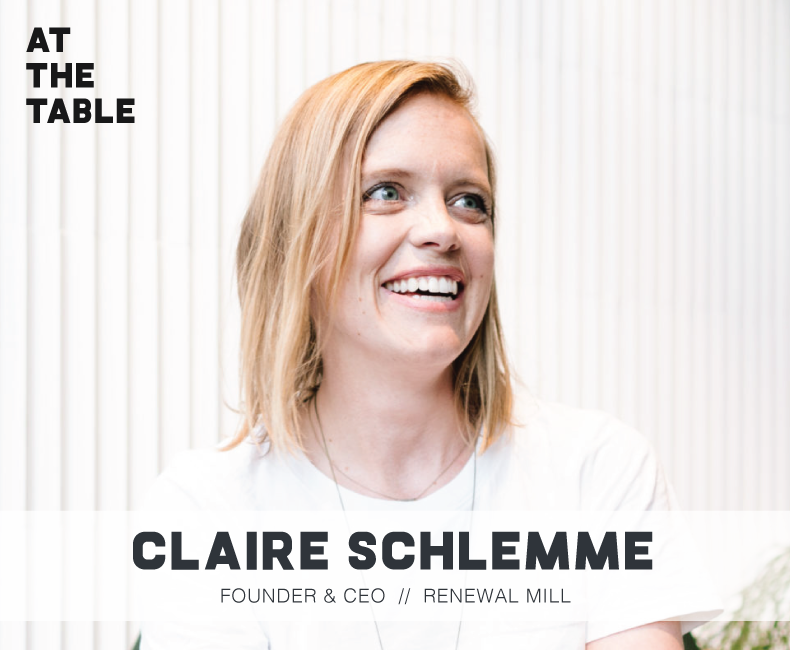 Claire Schlemme Interview on At The Table Podcast