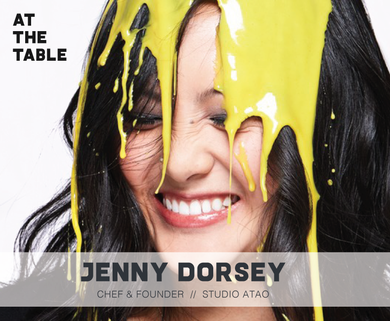 Chef Jenny Dorsey on At The Table Podcast