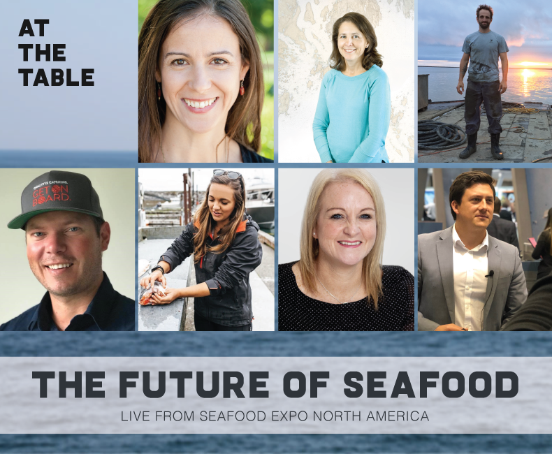 At The Table Podcast at Seafood Expo North America