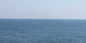 Image of the ocean and sky